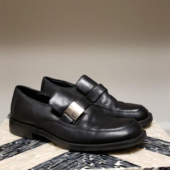 Kenneth Cole Reaction Black Dress Shoes Sz 9